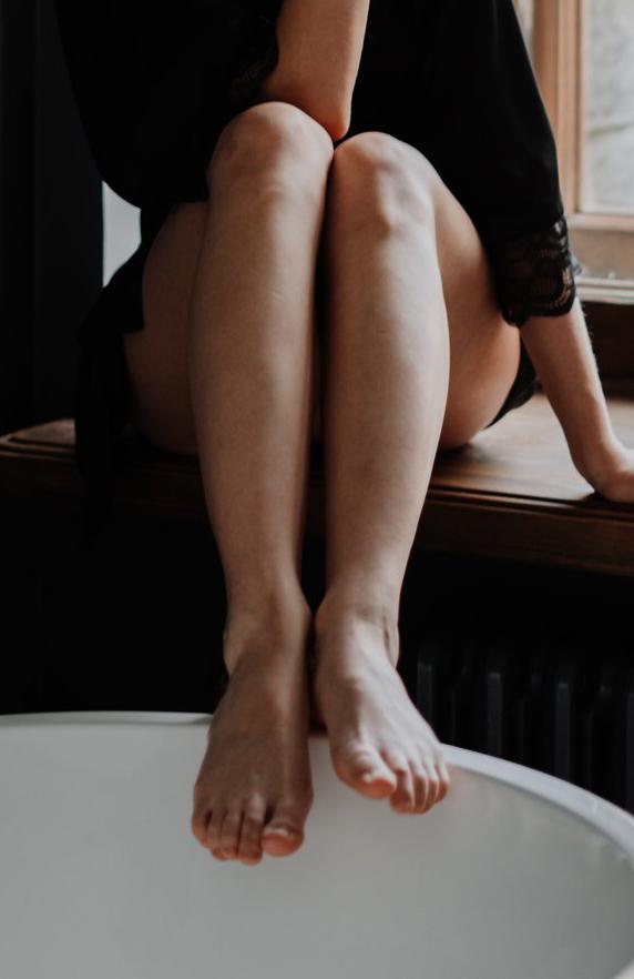 voetenbad kalknagels